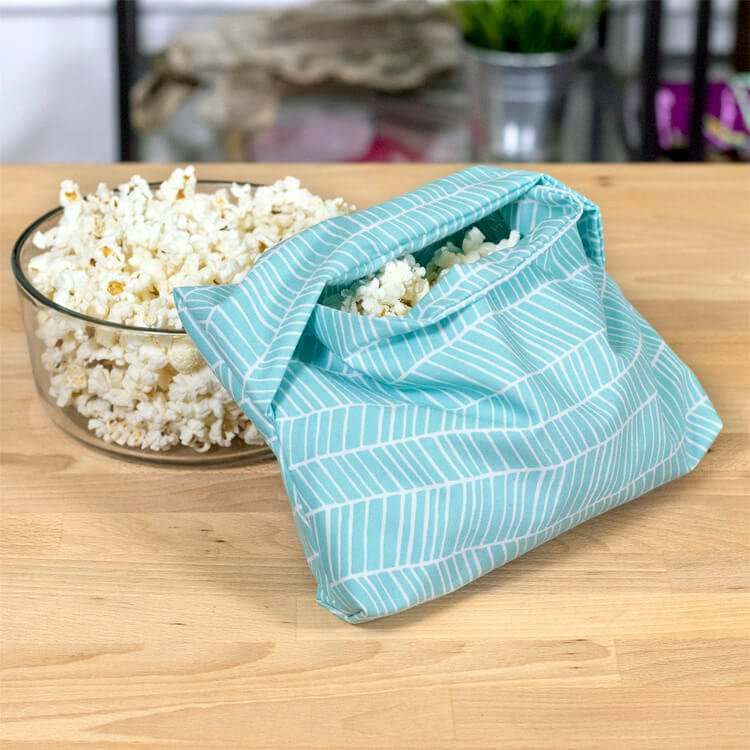 How to Make a Reusable Microwave Popcorn Bag