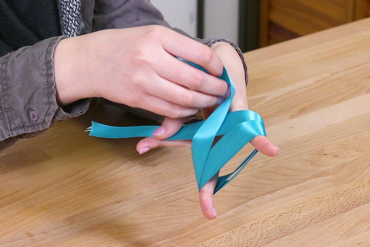 Wrap around fingers