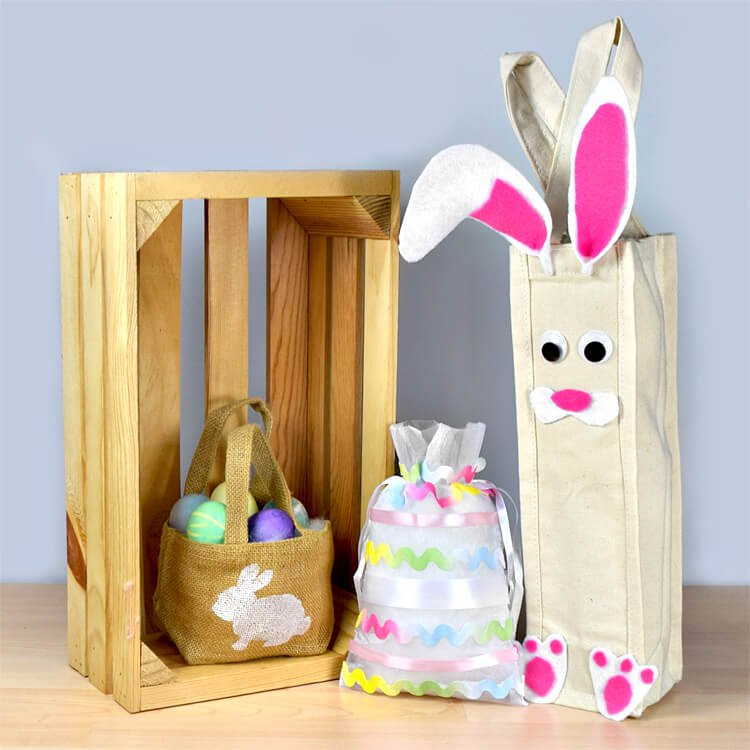 How to Make Easter Gift Bags