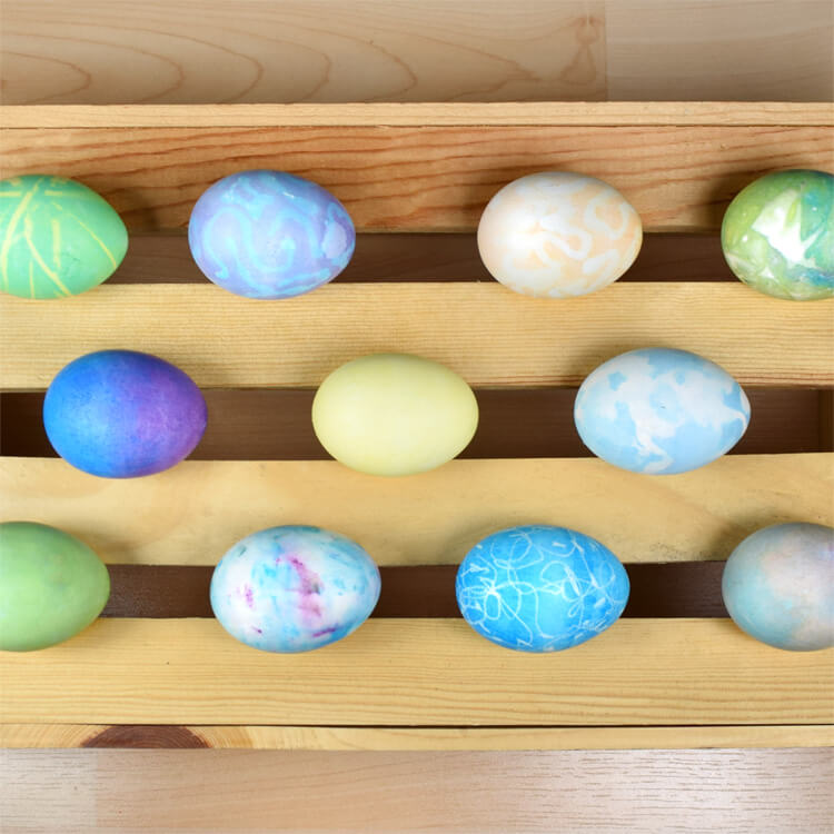 How to Dye Easter Eggs with Rit Dye