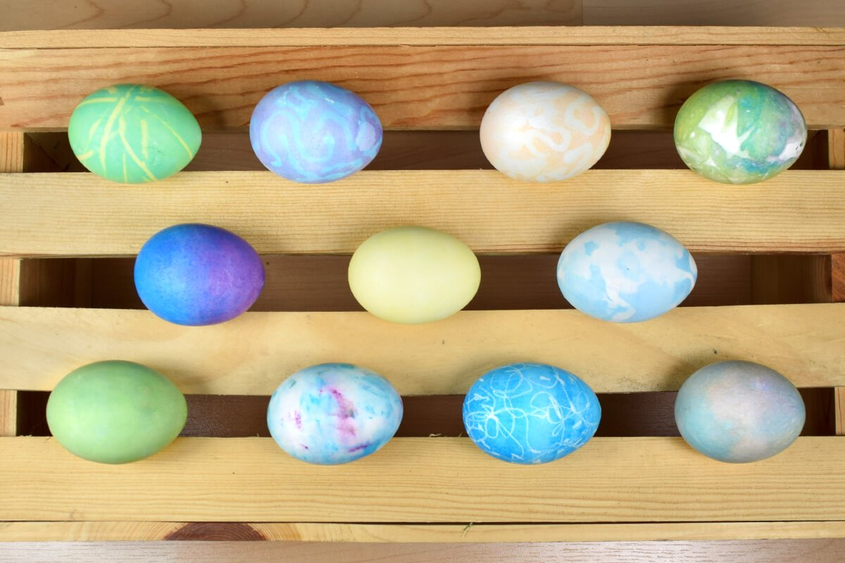 Rit Dyed Easter Eggs