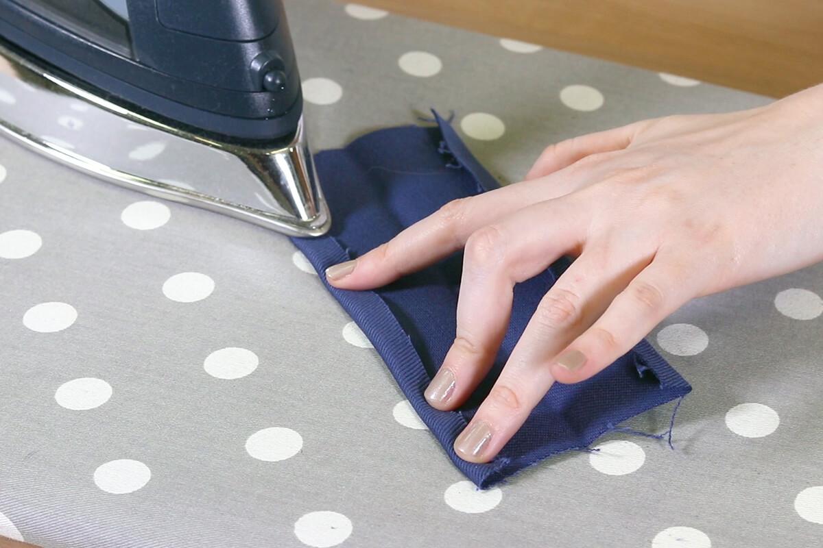 Iron top fold