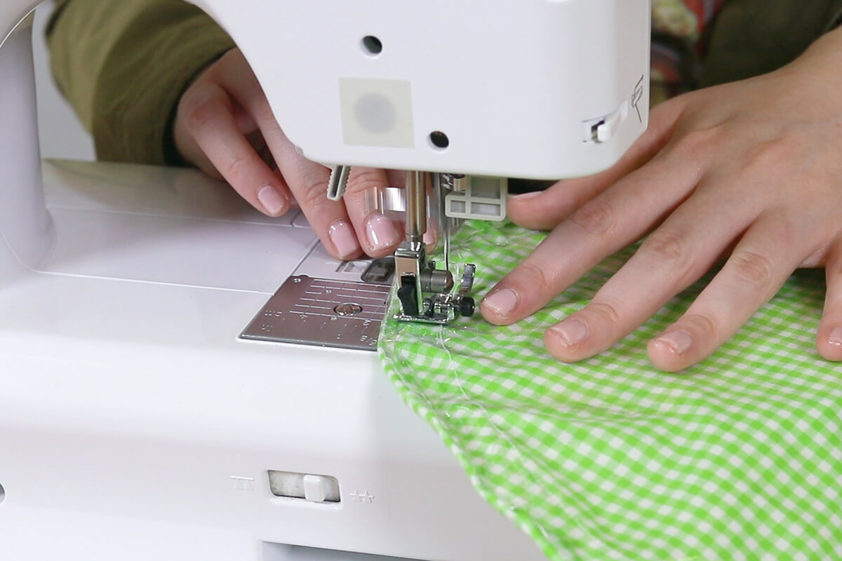 Sew a channel