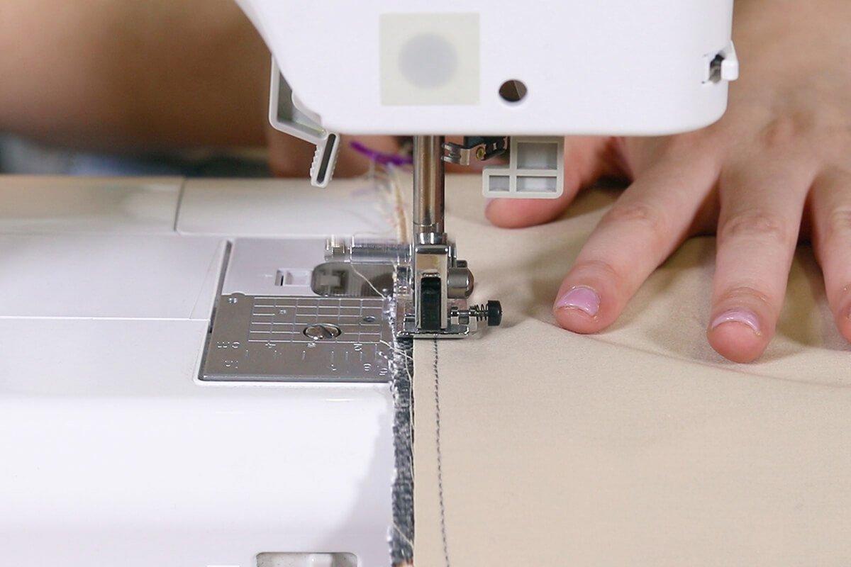 Sew around edge