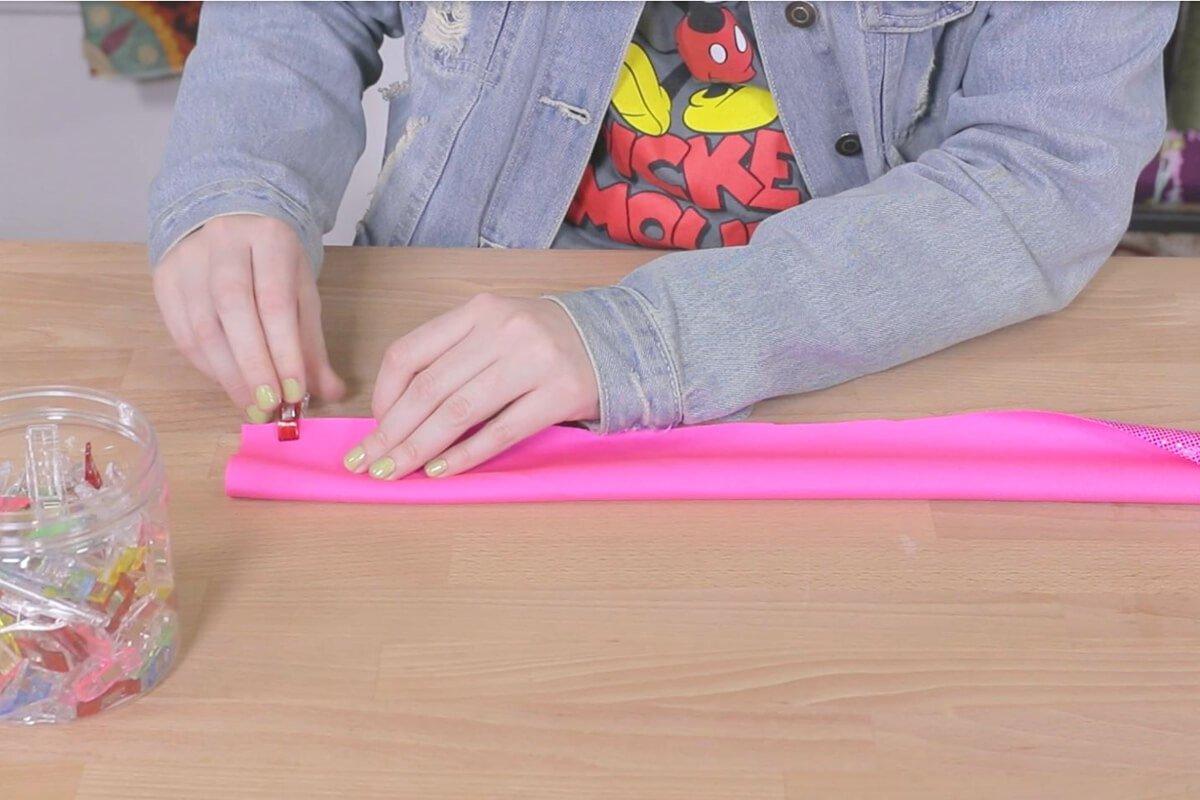 Fold and Clip Tube