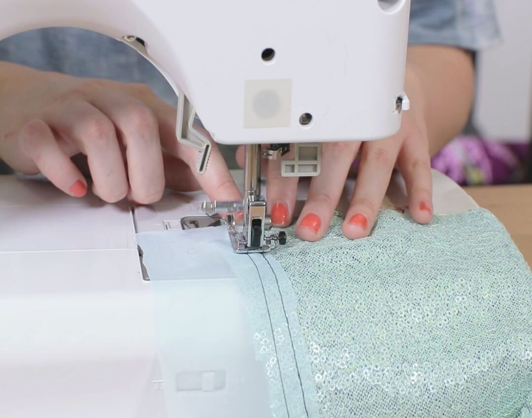 sew-chiffon-to-both-pieces-of-sequin