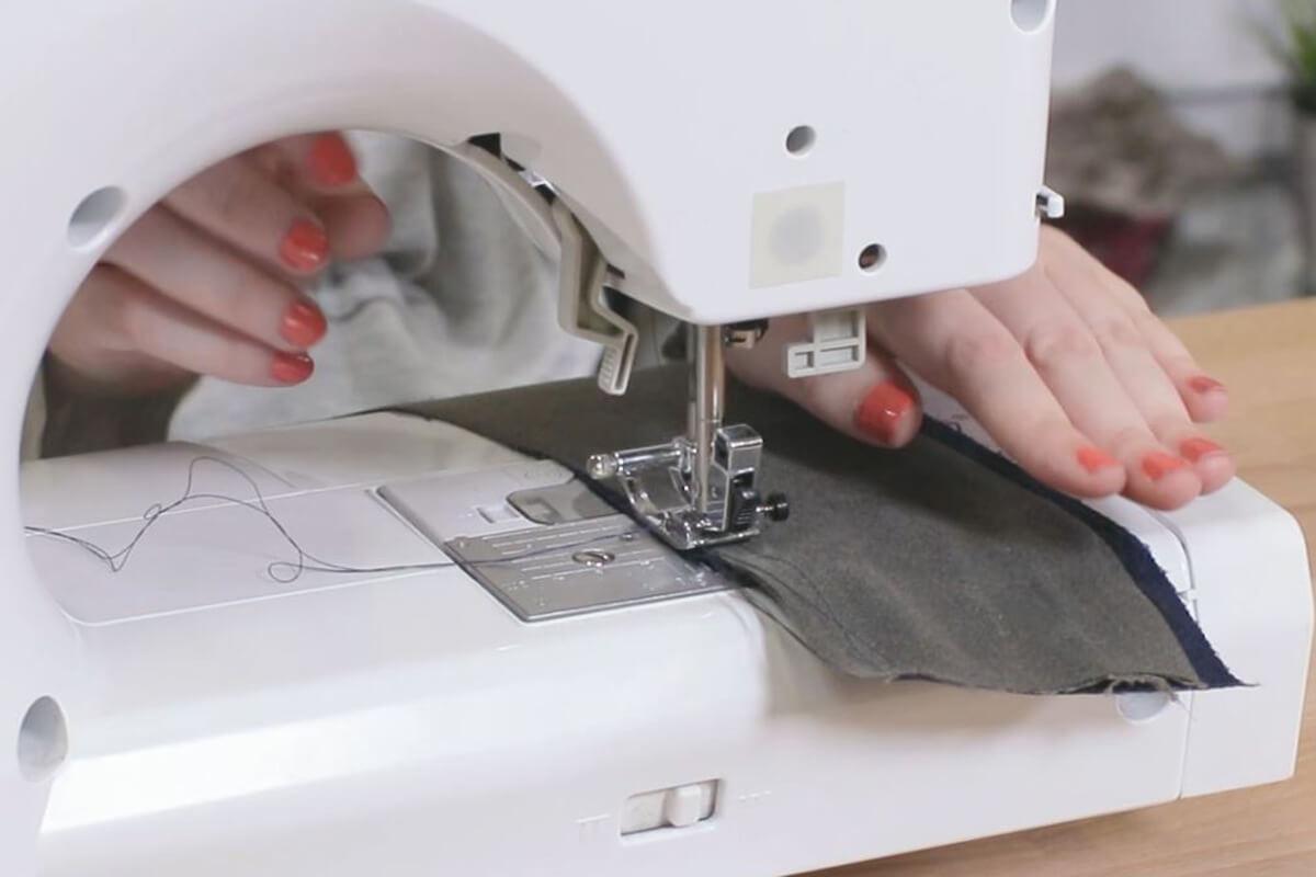 Sew up Long Edges