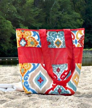 How to Make a Mesh Beach Bag