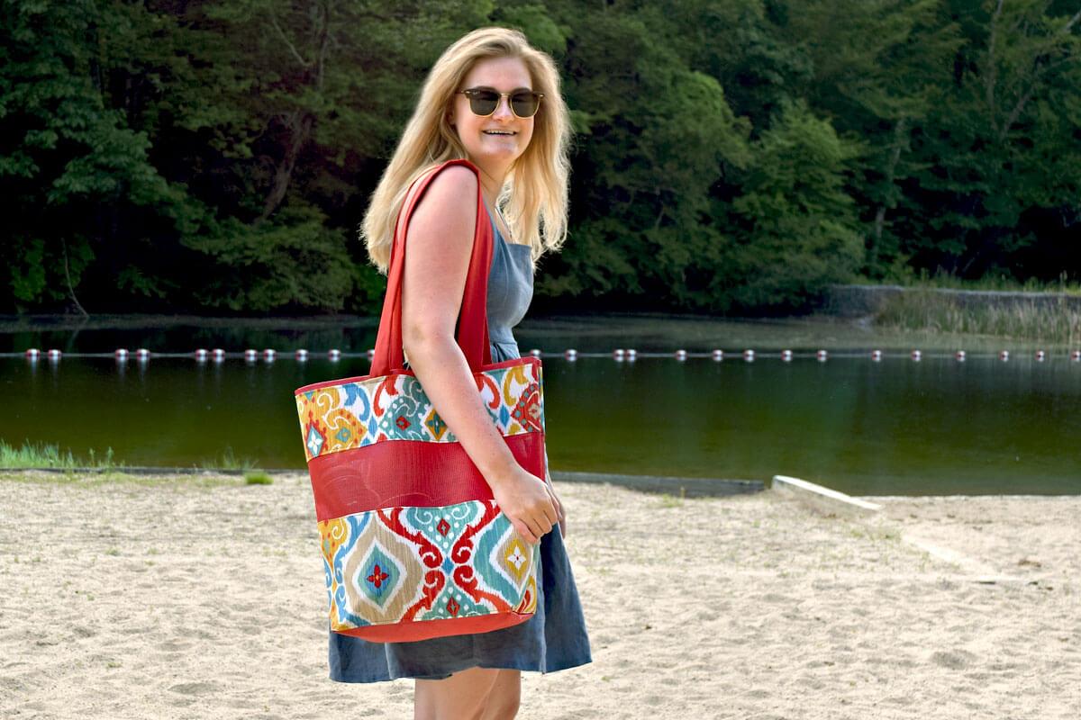 Phifetex Beach Bag
