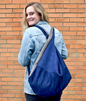 How to Make a Slouchy Backpack Bag