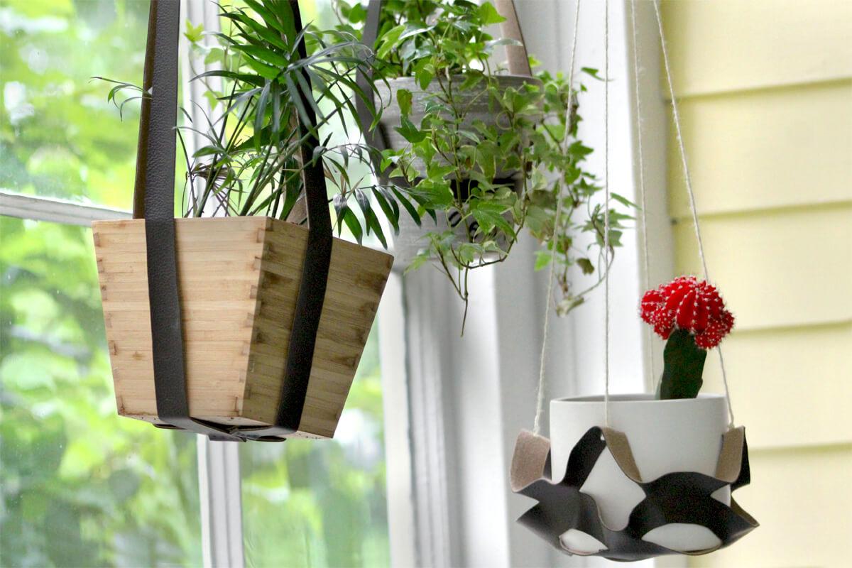 Vinyl Plant Hangers