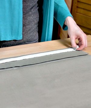 How to Use Weighted Drapery Tape