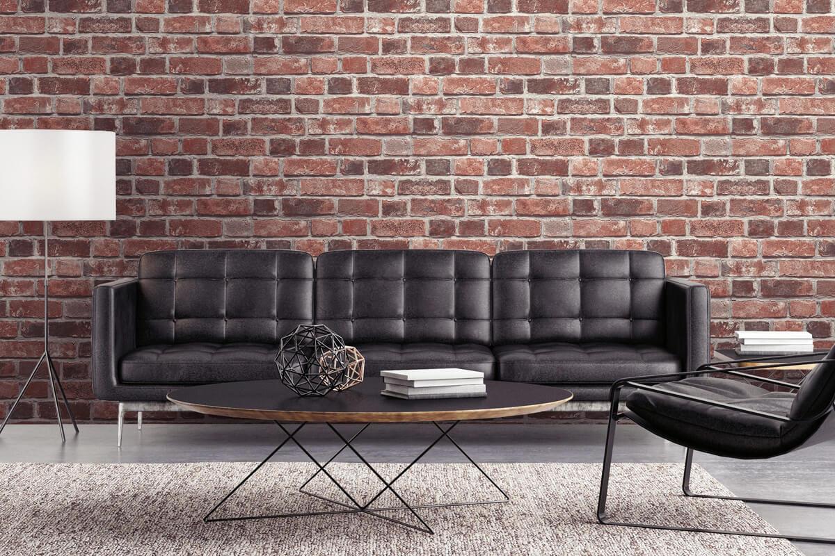 Brick Peel & Stick Wallpaper