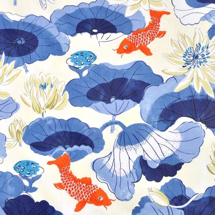 Waverly Lotus Lake Porcelain Fabric