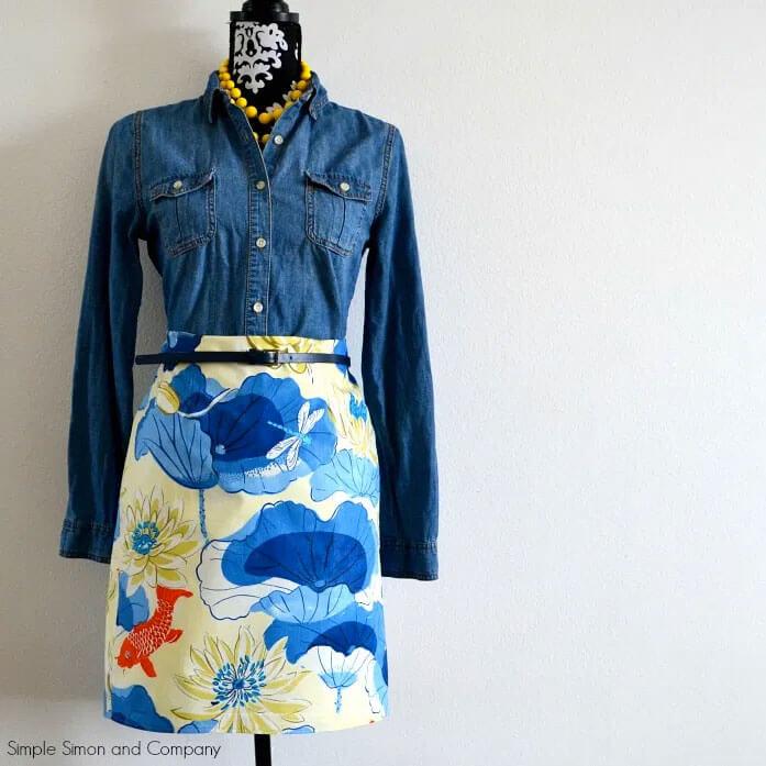 Koi Pencil Skirt