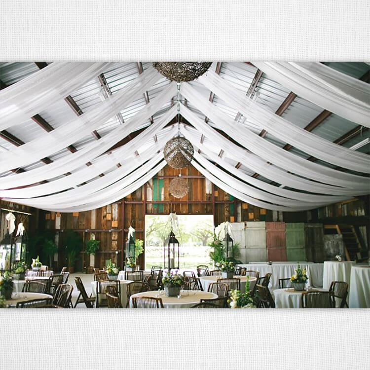 Gorgeous Barn Wedding Decor on a Budget