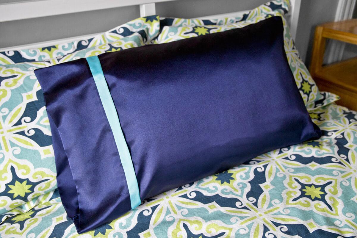 Roll up pillowcase