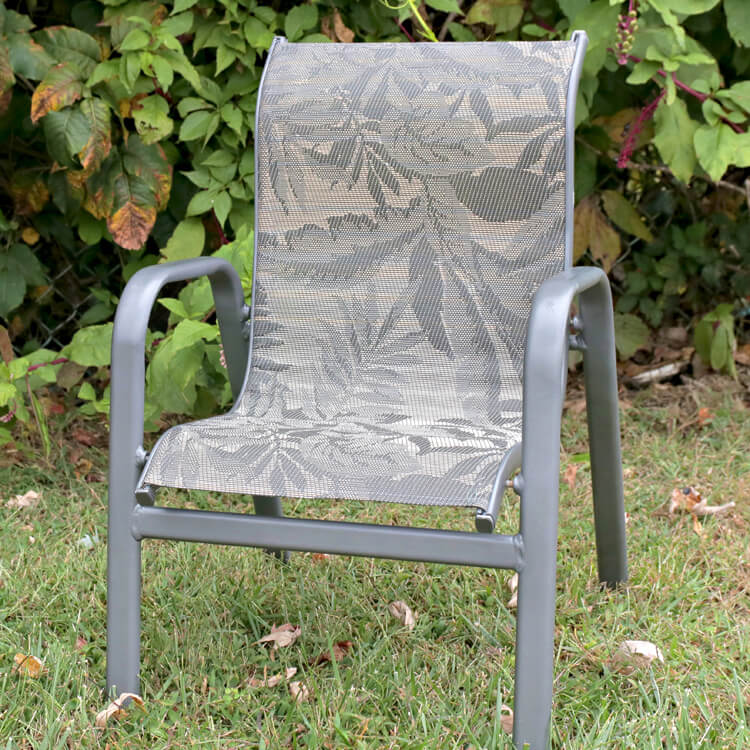How To Replace Fabric On A Sling Chair, Sling Chair Material