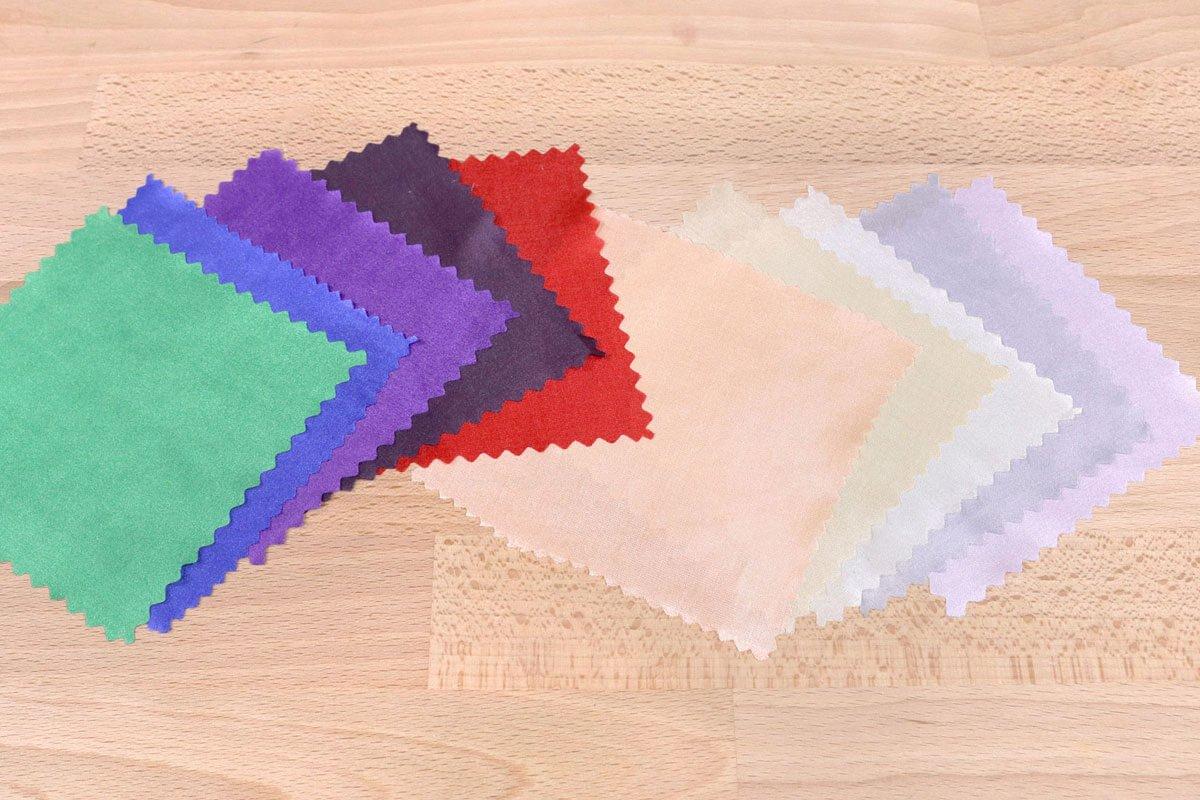 Polyester habutae