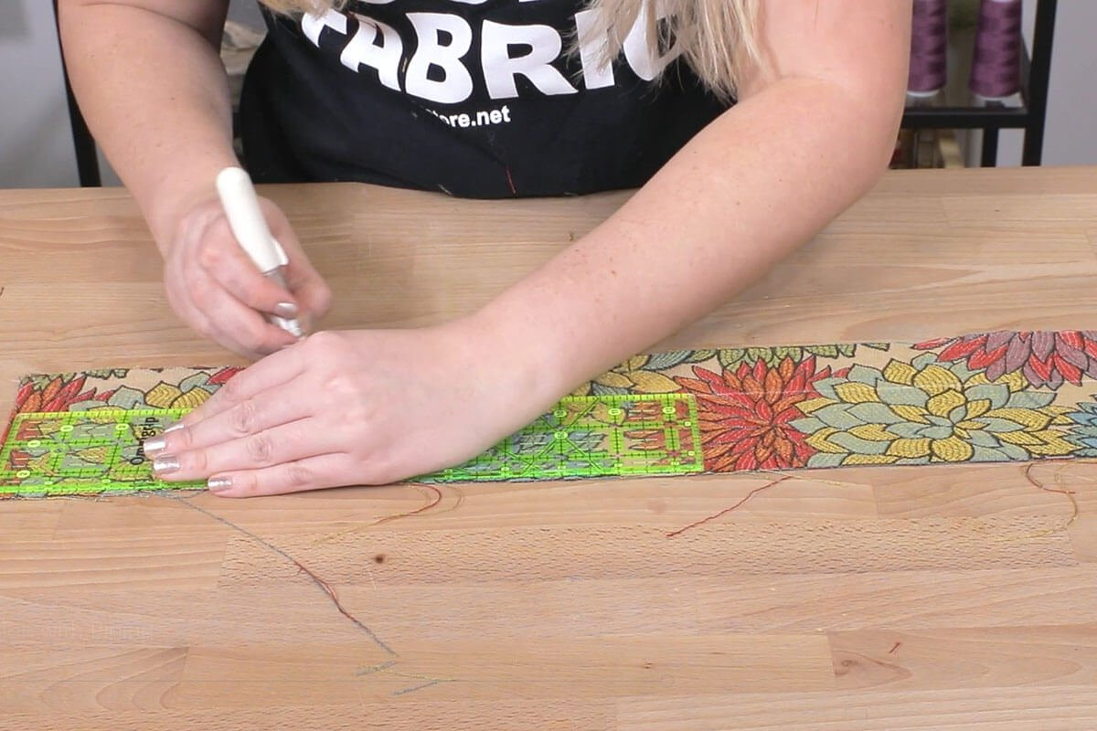 Decide Where to Fold Your Fabric