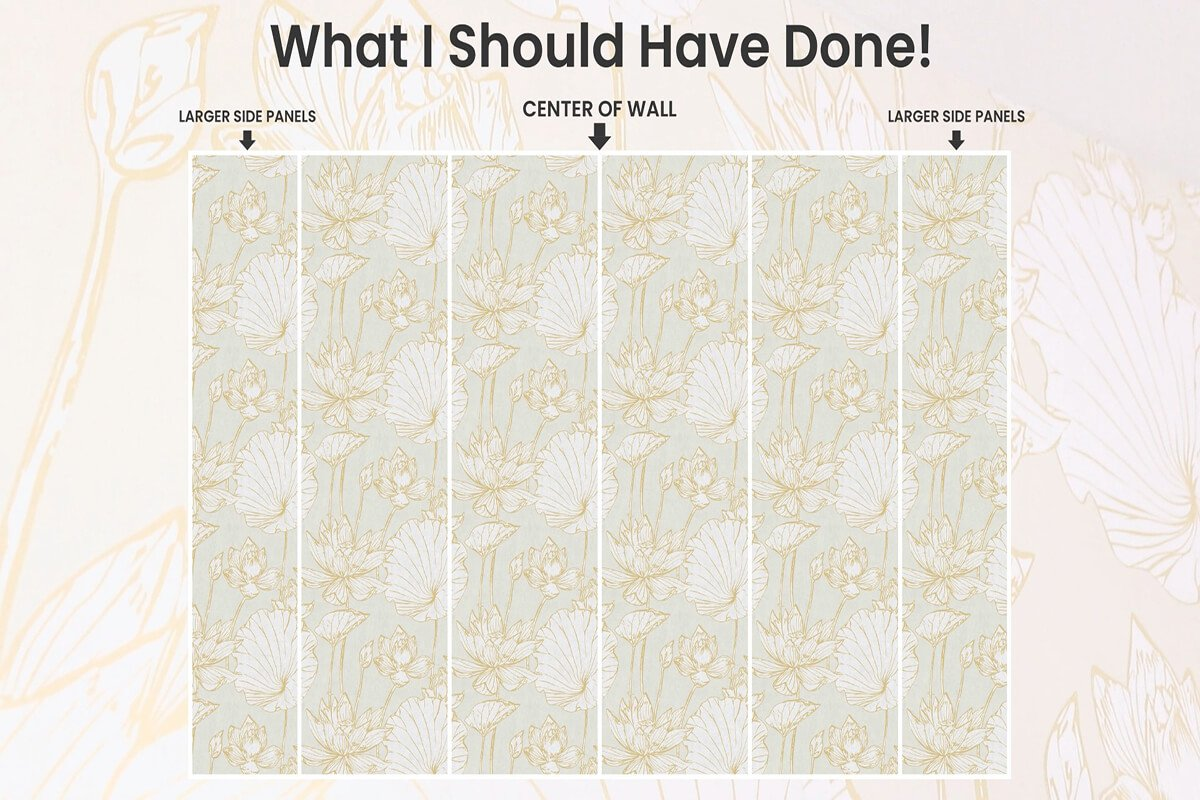 Determine how to orient your wallpaper