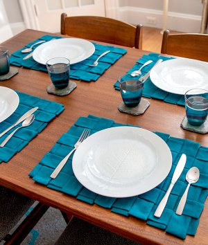How to Make Woven Placemats