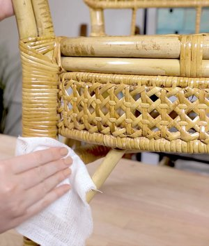 How to Care for Cane Webbing
