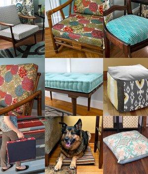 Cushion DIY Upholstery Tutorials